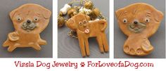 Handmade Vizsla dog jewelry at ForLoveofaDog.com is on sale with free standard shipping.