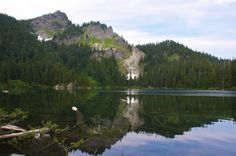 Mirror Lake — Snoqualmie Pass, 2.2 miles roundtrip, 870 ft. elevation gain -- Rarely can you find such lovely sites with so little effort, but here, a short trek will take you through forests, across delicate streams, and past brightly colored wildflowers.