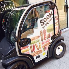 Qui c'est qui arrive à Milan ? C'est nous!!!!!  #leclairdegenie #Milan #soon #eclairs #yummy @christopheadam