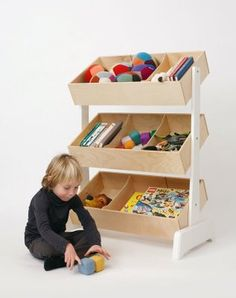if a child can't see what they own they will never find their toys. this is attractive and functional.