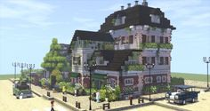 - Explore the best and the special ideas about Lego Minecraft Lego Minecraft, Minecraft Modern City, Cute Minecraft Houses, Minecraft Houses Blueprints, Minecraft Construction, Minecraft Architecture, Minecraft Designs, Minecraft Buildings, Minecraft Mansion