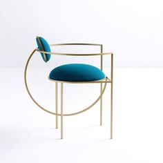 Celestially inspired - Lara Bohinc new seating collection is just to die for. #beautiful #elegant #todiefor #furnituredesign