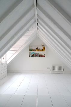 Blindsiding Tips: Finished Attic Access attic house loft ladders.Attic Before And After Basements attic makeover before after. House, Beautiful Houses Interior, Home, Attic Flooring, Attic Renovation, Loft, Attic Conversion, House Interior, Secret Rooms