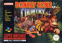 Super Nintendo: Donkey Kong Country. Missing the baby crocodiles that have a high-pitched 'ow!' when you jump on them...