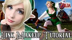 Legend of Zelda: Female Link Cosplay Makeup Tutorial