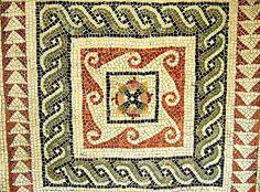 Roman mosaic, British Museum