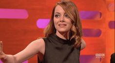 And finally, when she fangirled over Spice Girls more than once on national TV and didn't really mind that people were laughing at how passionate she was. | 21 Times Emma Stone Gave Absolutely Zero F**ks