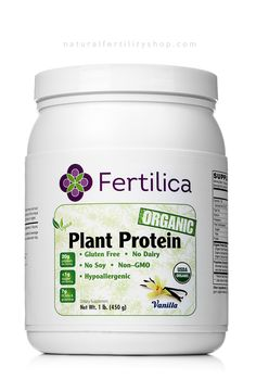 Fertilica Plant Protein is a complete protein derived from a blend of four organic plant proteins: pea, fermented amaranth, hemp, and Sacha inchi (Plukenetia volubilis) also known as Inca peanut. Fertilica Plant Protein powder is hypoallergenic, easy to digest, and contains no cholesterol or saturated fat. It is a healthy way to provide the body the protein it needs to build and maintain lean muscle, maintain healthy weight, balanced blood sugar levels and support normal immune system…