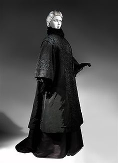 Mourning coat, 1907 House of Worth,  Collection | The Metropolitan Museum of Art