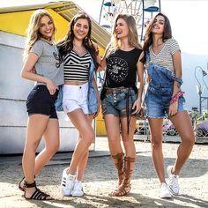 💙  Jeans: deliciosa e confortável  aposta para o verão 2017  www.lojastenda.com.br/blog/