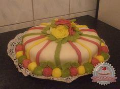 Csokis-vaníliás torta