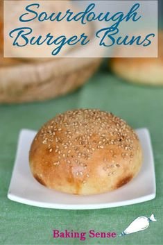 Sourdough Hamburger Buns will take your burgers to the next level. They're soft with amazing flavor and texture thanks to sourdough starter in the dough. Sourdough Hamburger Buns Recipe, Recipe Using Sourdough Starter, Best Bread Recipe, Sourdough Recipes, Hamburger Recipes, Bread Recipes, Sourdough Rolls, Starter Recipes, Sourdough Bread Machine