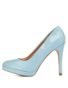 Qupid Mini-Platform Pumps: Charlotte Russe