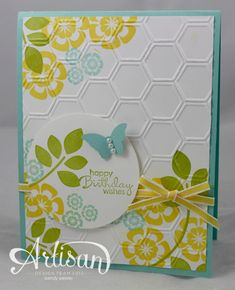 WMW Betsys Blossoms & Honeycombs by Wendybell - Cards and Paper Crafts at Splitcoaststampers