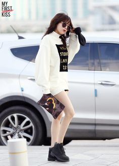 4Minute HyunA @ Airport