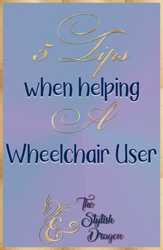 Do you have a friend or family member that is a Wheelchair User? If you are going to attempt to assist anyone with a mobility device, specifically wheelchair in this article, please read along to understand 5 things you NEED to know before helping a Wheelchair User. #Wheelchair #WheelchairUser