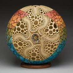 Mark Henry Doolittle - Gourd artwork with Kathy Doolittle