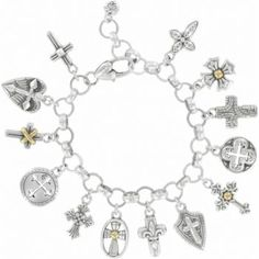 Peace and serenity when I can view the cross..... Sanctum Cross Bracelet  available at #Brighton #winourhearts