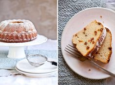 Tvarohová bábovka Kitchenette, Sweet Recipes, French Toast, Cupcakes, Sweets, Bread, Cookies, Baking, Breakfast