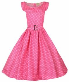 14db59c234fc NEW POLKA DOT BOW SHAWL COLLAR VINTAGE 1950 s ROCKABILLY SWING PARTY TEA  DRESS