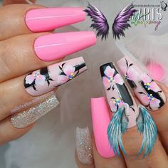 Nail Designs nail designs for fall nail designs for summer gel nail designs 2019<br> Summer Gel Nails, Fall Nail Designs, Nail Trends, Selena Gomez, Nail Art, Fun, Nail Arts, Funny