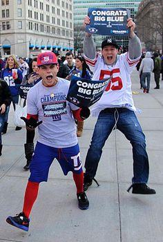 New York Giants Super Bowl Parade 2011