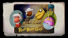 Root Beer Guy (episode) - The Adventure Time Wiki. Adventure Time Series Finale, Adventure Time Wiki, Adventure Time Episodes, Adventure Time Characters, Greatest Adventure, Marceline, Adventure Time Pictures, Pendleton Ward, Jake The Dogs