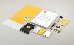 Identité visuelle agence d'architecture Lyon - Bees Architectes