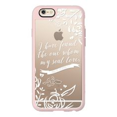 iPhone 6 Plus/6/5/5s/5c Case - I've Found The One (Bible Verse) ($40) ❤ liked on Polyvore featuring accessories, tech accessories, iphone case, apple iphone cases, iphone hard case and iphone cover case