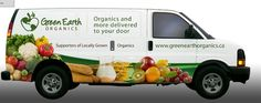 vegetable box delivery vans - Google Search