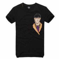 cheap ralph lauren polo shirts Dolce & Gabbana Printed Short Sleeve Men's T-Shirt Black http://www.poloshirtoutlet.us/