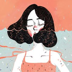 I love this beautiful illustration by Kathrin Honesta