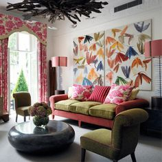 Drawing Room | Number 16 Hotel | Firmdale Hotels | Hotel Reviews | Travel | Red Online