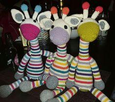 Amigurumi, Crochet Stuffed Animals