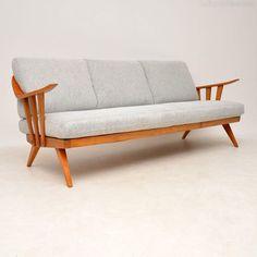 Antiques Atlas - Vintage Sofa By Wilhelm Knoll Retro Sofa, Vintage Sofa, Danish Furniture, Retro Furniture, Mid Century Modern Sofa, Living Styles, Mid-century Modern, Love Seat, Modern Interiors
