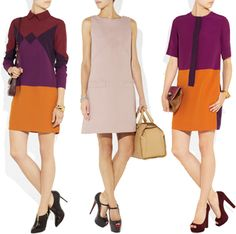 Victoria Beckham Dresses - from her new, more economically priced line Victoria, Victoria Beckham