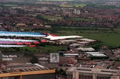 Concorde and The Red Arrows Heathrow