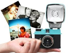 Lomo Diana. Small camera, great effects. Need to get one.