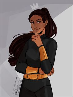 Hylla Ramirez Arellano, Queen of the Amazons | HoO (2) Son of Neptune