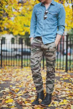 Street style in camo