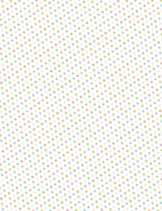 Printable Polka Dot Patterns... for making washi tape stickers