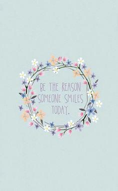 Картинка с тегом «smile, quote, and flowers»