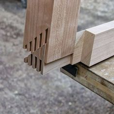Unique joinery