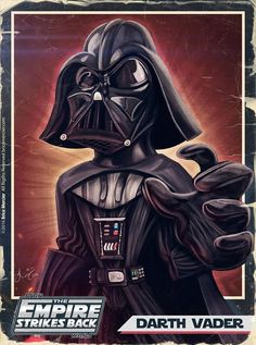 Caricature de Darth Vader par Brice Mercier