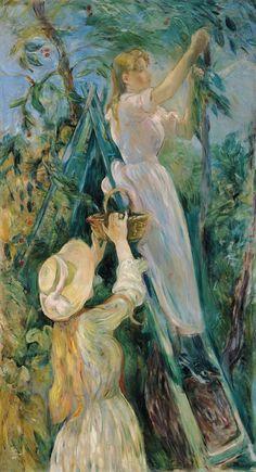 berthe morisot   Berthe Morisot , Le Cerisier 1891. © musée Marmottan Monet, Paris ...