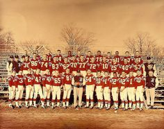 1960 Boston Patriots - First season as a member of the new AFL.