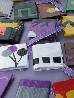 Duct tape wallets - Make them, gift them, sell them! Be creative or make it simple!
