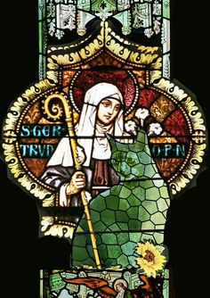 """""""March 17th is the feast day of St Gertrude of Nivelles, the patron saint of cats. She's also the patron of travellers and gardeners, and protects against rats and mental illness."""" So the mortals tell me anyway!"""