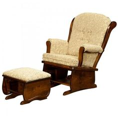 171 Swan Back Glider Chair  sc 1 st  Pinterest & Redux Antique Rocker-Glider - Heritage Colonial Acorn Country Lane ...