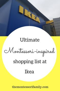 Here are my must-have Montessori inspired items from Ikea. Watch the video and d. - Montessori , Here are my must-have Montessori inspired items from Ikea. Watch the video and d. Here are my must-have Montessori inspired items from Ikea. Ikea Montessori, Montessori Bedroom, Montessori Homeschool, Montessori Elementary, Montessori Materials, Montessori Activities, Infant Activities, Montessori Toddler Rooms, Education Positive